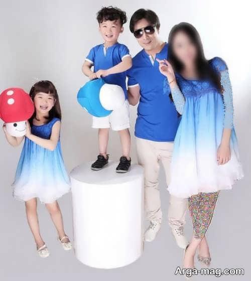 ست لباس شیک برای اعضای خانواده