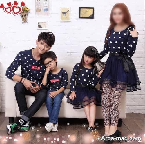 ست لباس زیبا برای اعضای خانواده