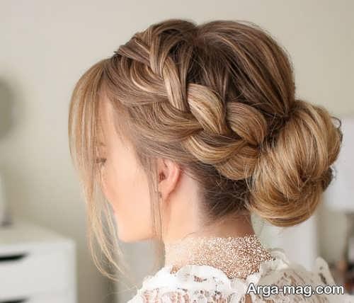 مدل آرایش مو زیبا فرانسوی