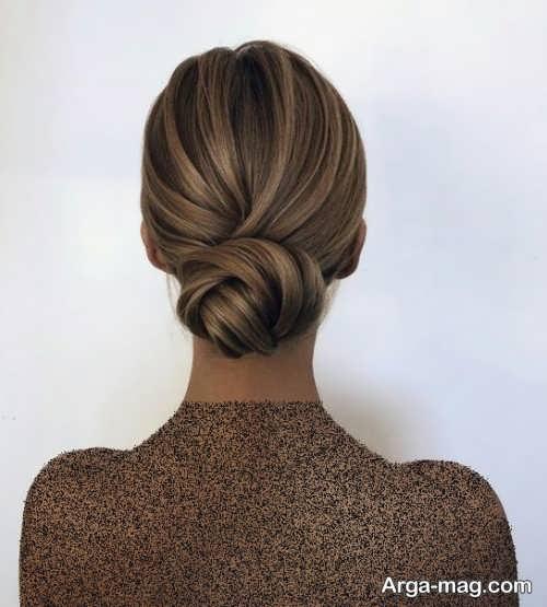 مدل مو زیبا و بسته فرانسوی