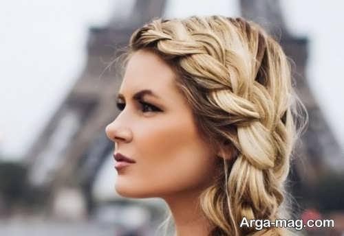 مدل مو زیبا فرانسوی