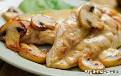 طبخ خوراک مرغ فرانسوی به چه صورت است؟
