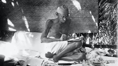 مبارزات گاندی با مخالفان استقلال هند