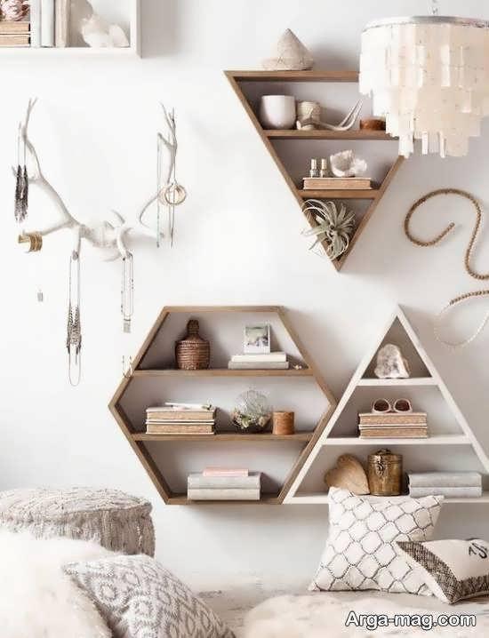 گالری شیکی از کاربرد اشکال هندسی در دیزاین خانه