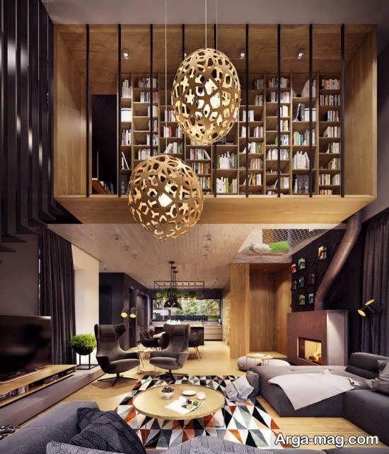گالری شیکی از استفاده اشکال هندسی در دیزاین خانه