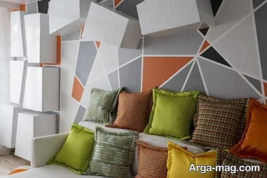 ایده هایی شیک و لوکس از استفاده از اشکال هندسی در تزیین خانه