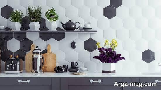 ایده هایی زیبا از اشکال هندسی در دیزاین خانه