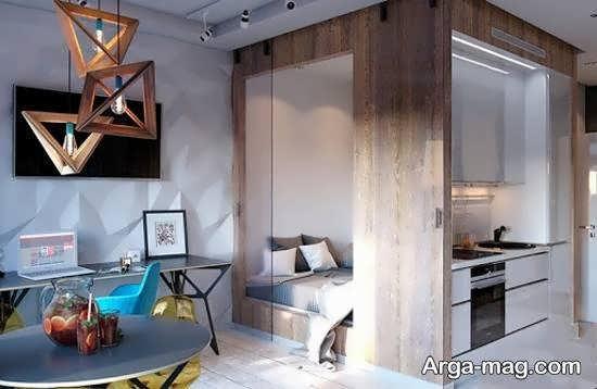 نمونه هایی شیک و بینظیر از کاربرد شکل های هندسی برای تزیین خانه