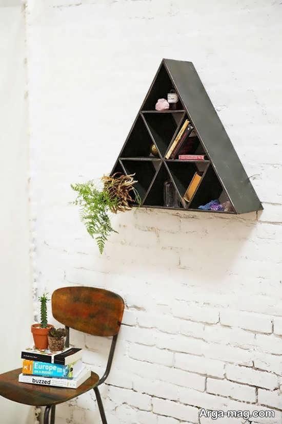 ایده هایی لاکچری و جذاب از استفاده از اشکال هندسی در تزیین خانه