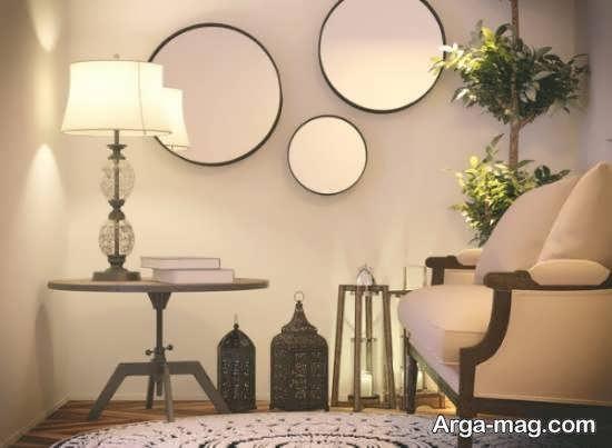 نمونه هایی زیبا و جذاب از کاربرد اشکال هندسی در دیزاین خانه