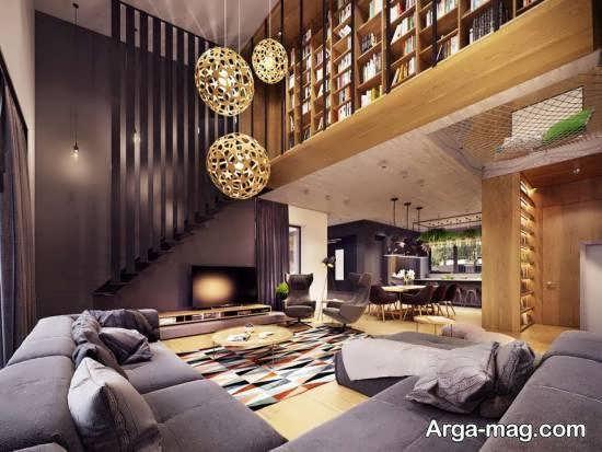 گالری شیکی از کاربرد اشکال هندسی در تزیین منزل