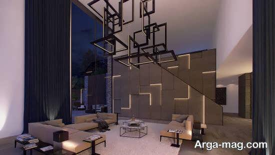 نمونه هایی زیبا و منحصر به فرد از کاربرد اشکال هندسی در تزیین خانه