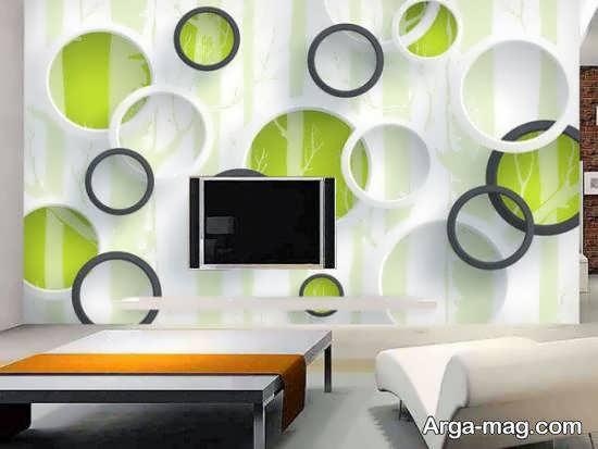 نمونه هایی زیبا و کاربردی از شکل های هندسی در تزیین خانه