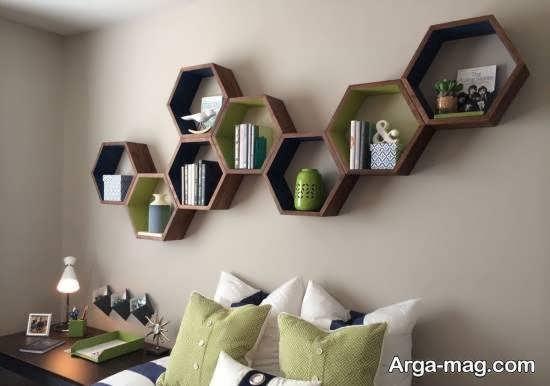 ایده هایی بینظیر و جذاب از استفاده از اشکال هندسی در تزیین منزل