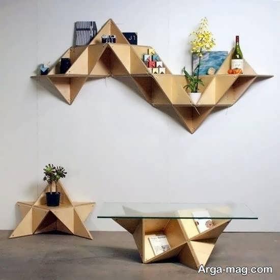 ایده هایی زیبا و منحصر به فرد از کاربرد اشکال هندسی در تزیین خانه
