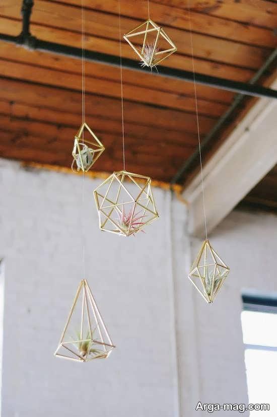 مجموعه ای ایده آل و نو از استفاده از اشکال هندسی در تزیین منزل