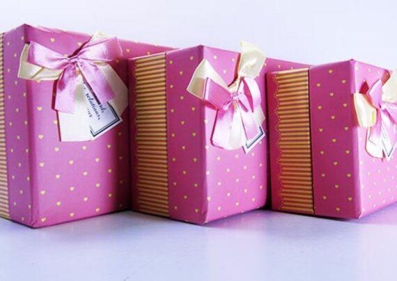 کادو کردن هدیه بزرگ