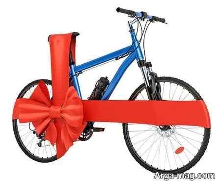 کادو کردن دوچرخه بزرگ