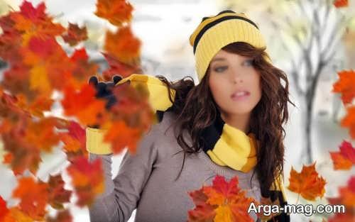 مدل کلاه پاییزی شیک