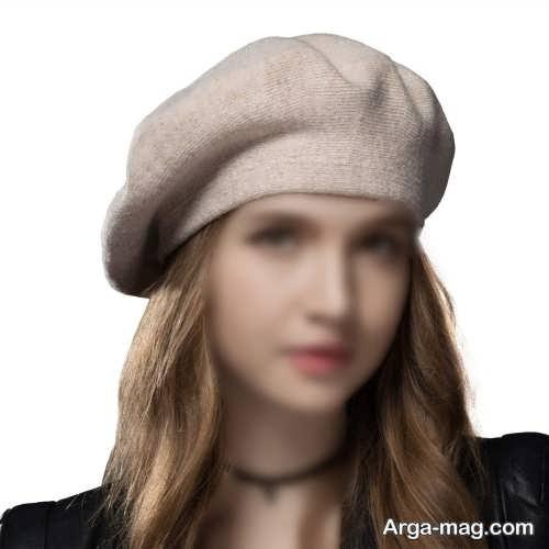 کلاه رنگ روشن دخترانه