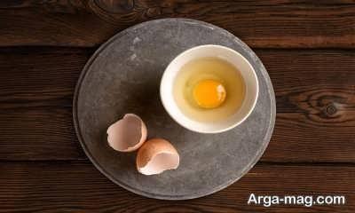 تاثیر تخم مرغ در درمان شکنندگی مو