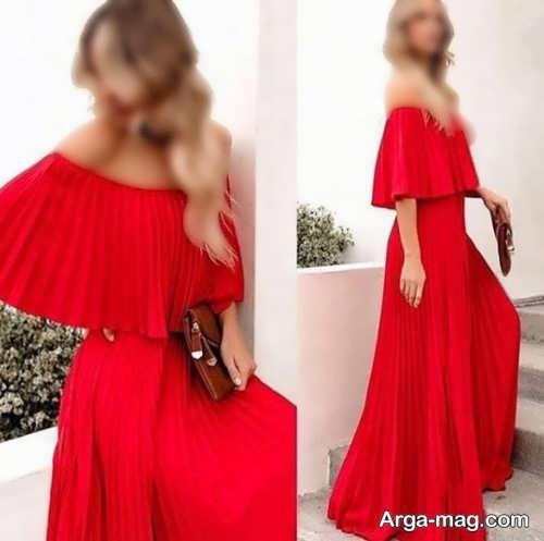 مدل لباس بدون سرشانه