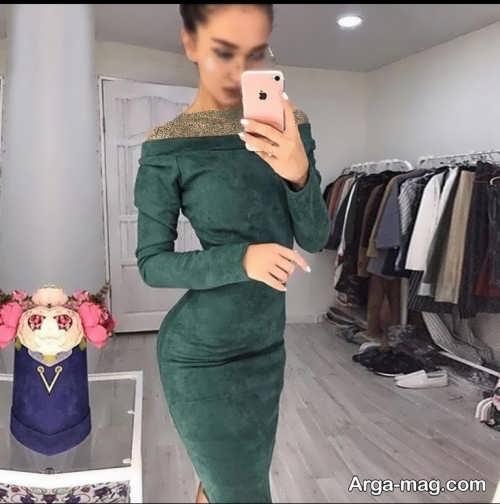 لباس دخترانه بدون سرشانه