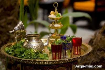 روش تهیه چای مراکشی خوش عطر
