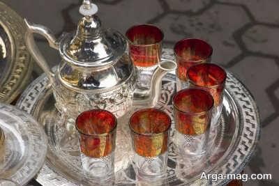 طرز تهیه نمودن چای مراکشی