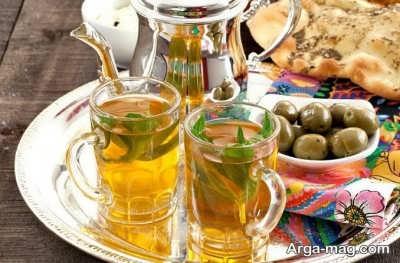 روش تهیه چای مراکشی