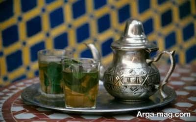 طرز تهیه چای مراکشی