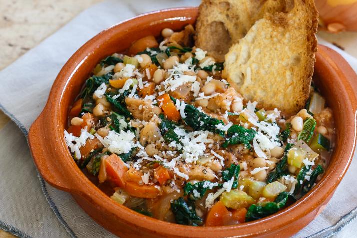 آشنای با طرز تهیه سوپ ریبولیتا