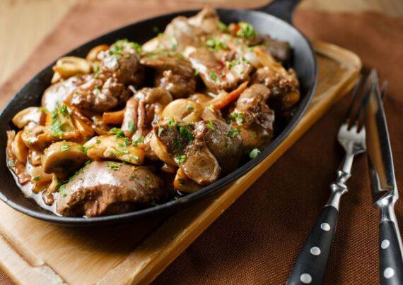 آشنای با طرز تهیه خوراک دل مرغ