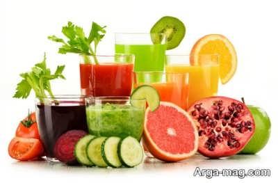 تاثیر مصرف آبمیوه های طبیعی در هیدراته کردن پوست