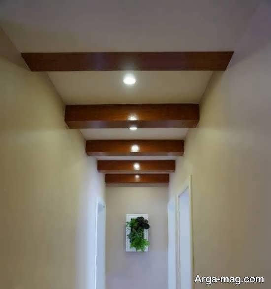مجموعه ای متفاوت و جذاب از سقف کاذب کناف برای دالان