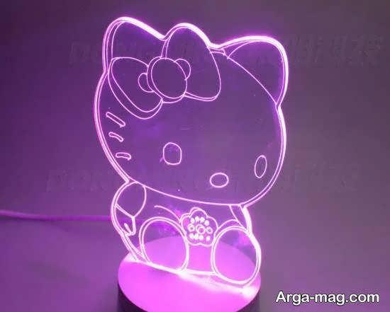 ایده هایی زیبا و جذاب از چراغ خواب بچه نورپردازی بهتر