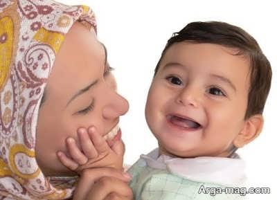 روش های خنداندن نوزاد