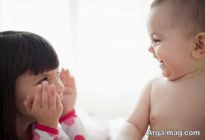 خنداندن بچه با چند راهکار