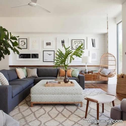طراحی زیبا اتاق نشیمن