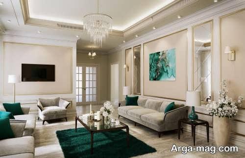دیزاین دکوراسیون اتاق نشیمن