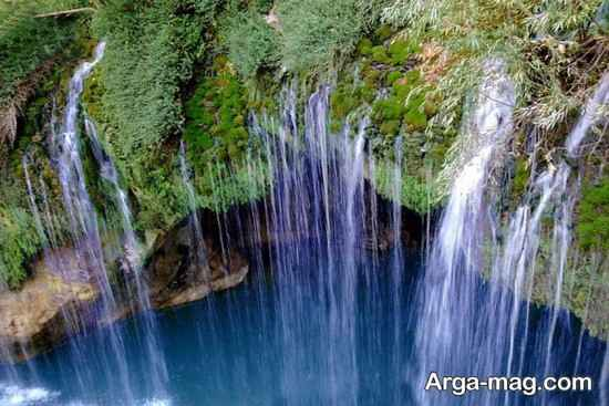 آبشار مرتفع ملخ