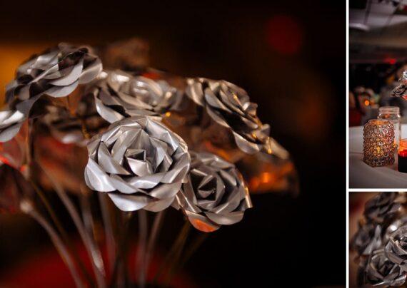 ساخت گل آلومینیومی