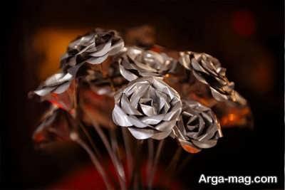 نحوه ساخت گل آلومینیومی