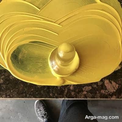 چگونگی ساخت رنگ طلایی