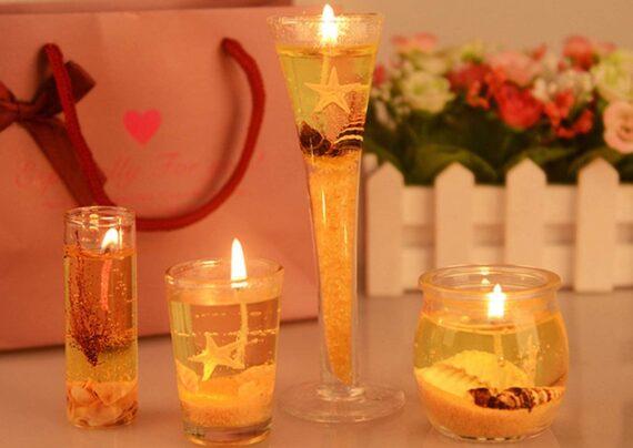 ساخت شمع ژله ای