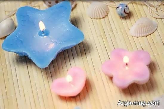 ساختن شمع شنی در شکل های مختلف