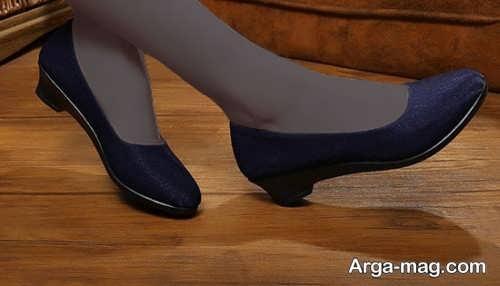 کفش پاشنه کوتاه