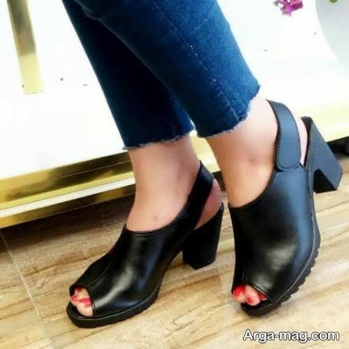 کفش تابستانه مشکی