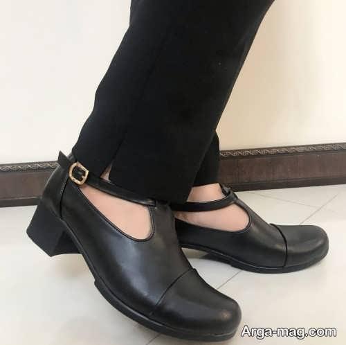 کفش بارداری پاشنه کوتاه