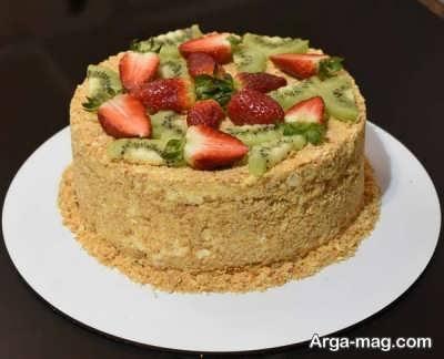 کیک مدوویک خوش طعم